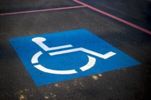 parcheggio handicap